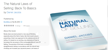 Book Review: The Natural Laws Of Selling by Daniel Jacobs